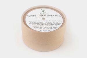 White Clay Scrub Facial