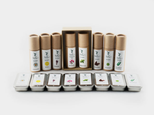 Eco lip balm gift box (includes 2 tubes)