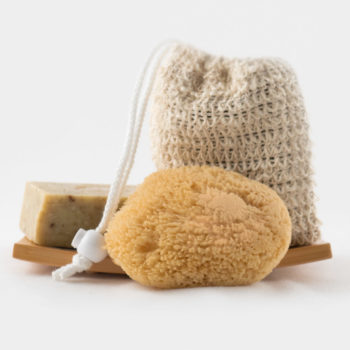 Dish Sponge Soap Bag