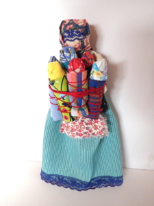 Family Slavic Russian Textile Doll