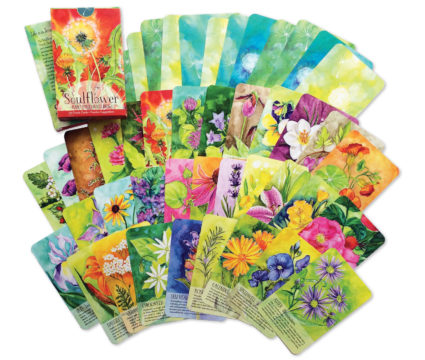 Soulflower Inspirational Cards and Temporary Tattoos