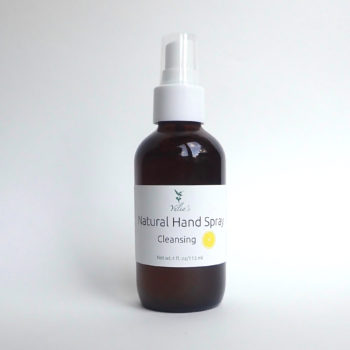natural hand spray