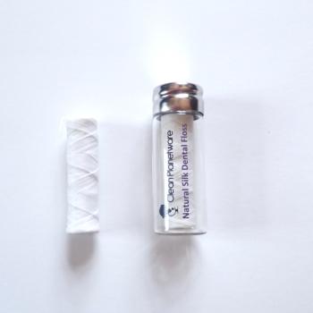 silk dental floss